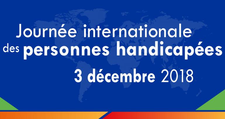 Journée internationale des personnes handicapées 2018