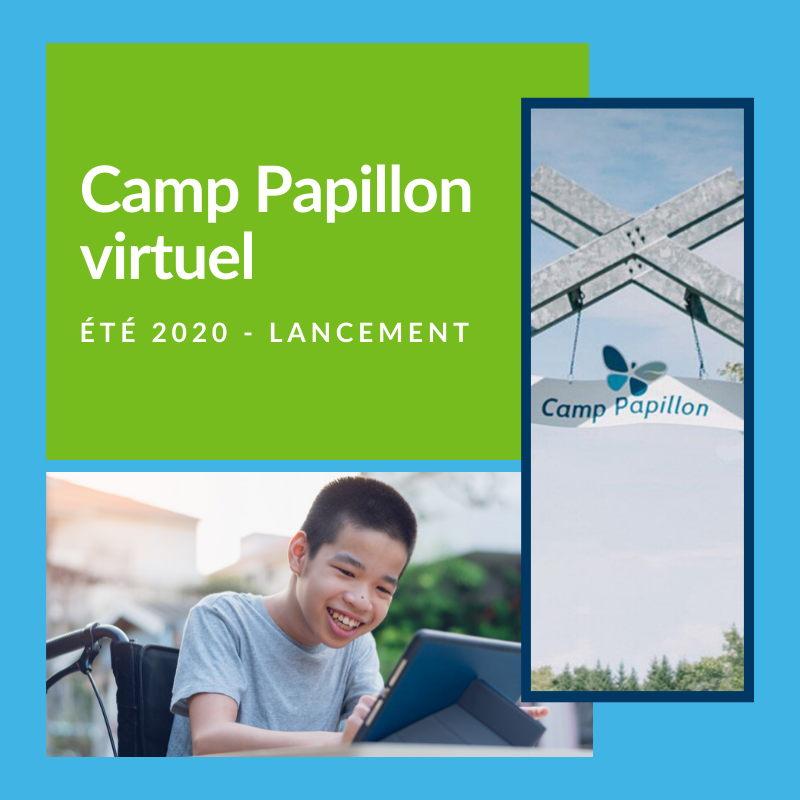 Lancement Camp Papillon virtuel